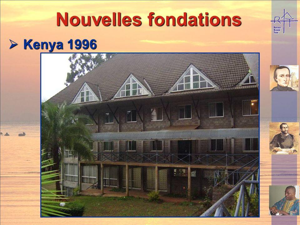 Nouvelles fondations Kenya 1996