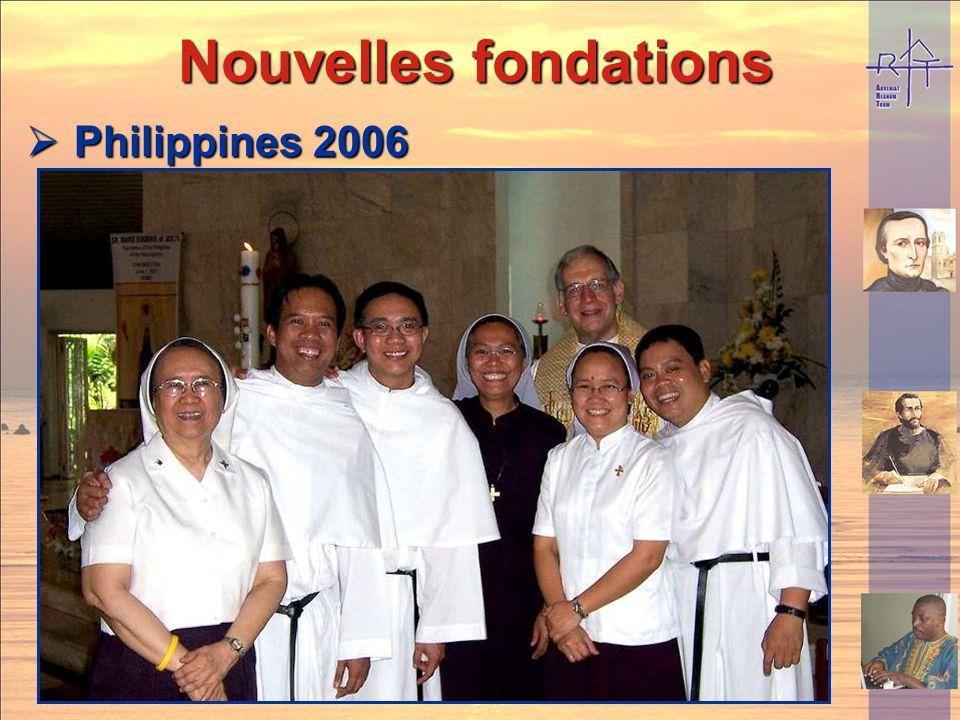 Nouvelles fondations Philippines 2006