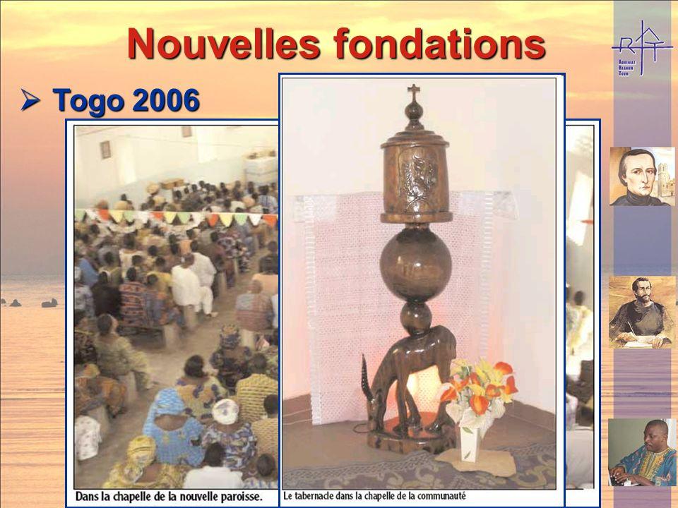 Nouvelles fondations Togo 2006