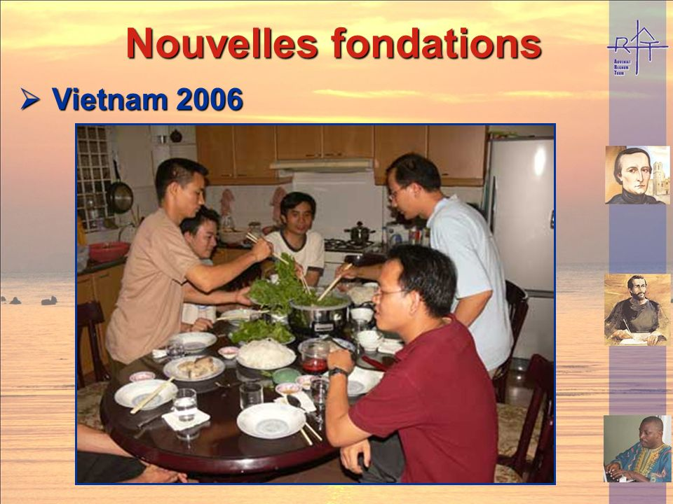 Nouvelles fondations Vietnam 2006