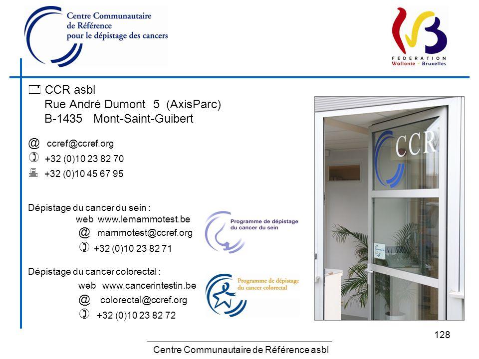 Centre Communautaire de Référence asbl