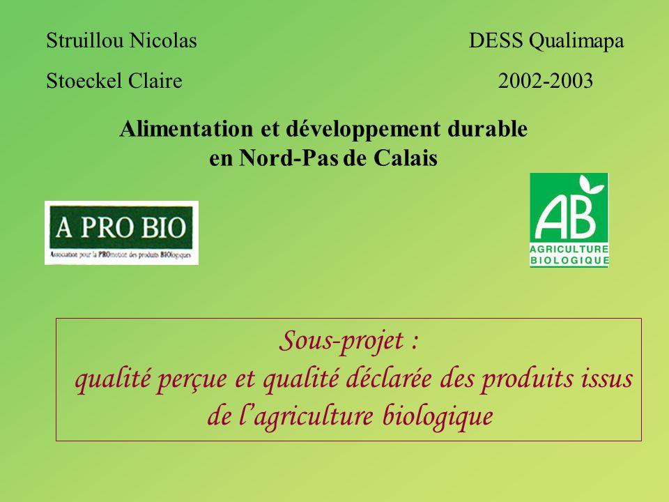 Alimentation et développement durable en Nord-Pas de Calais