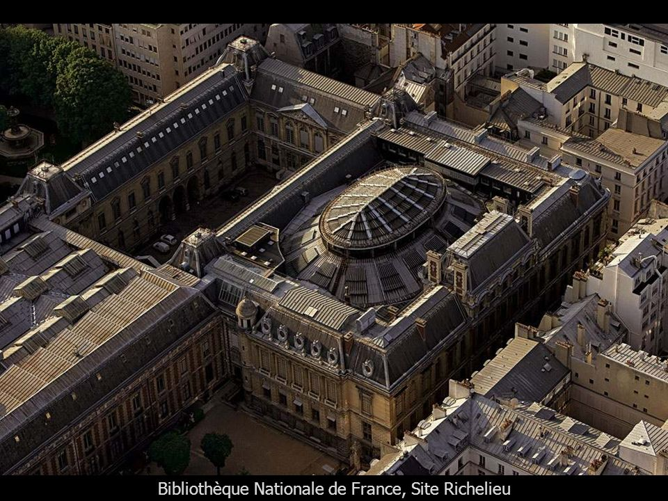 Bibliothèque Nationale de France, Site Richelieu