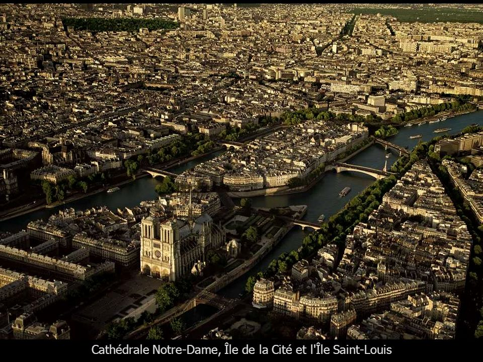 Cathédrale Notre-Dame, Île de la Cité et l Île Saint-Louis