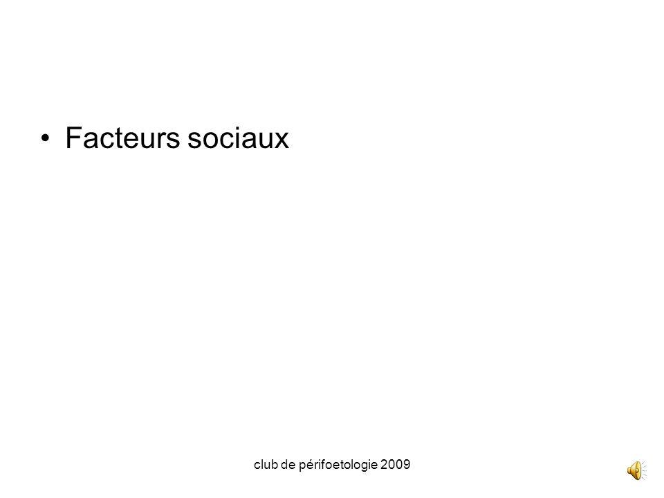 club de périfoetologie 2009