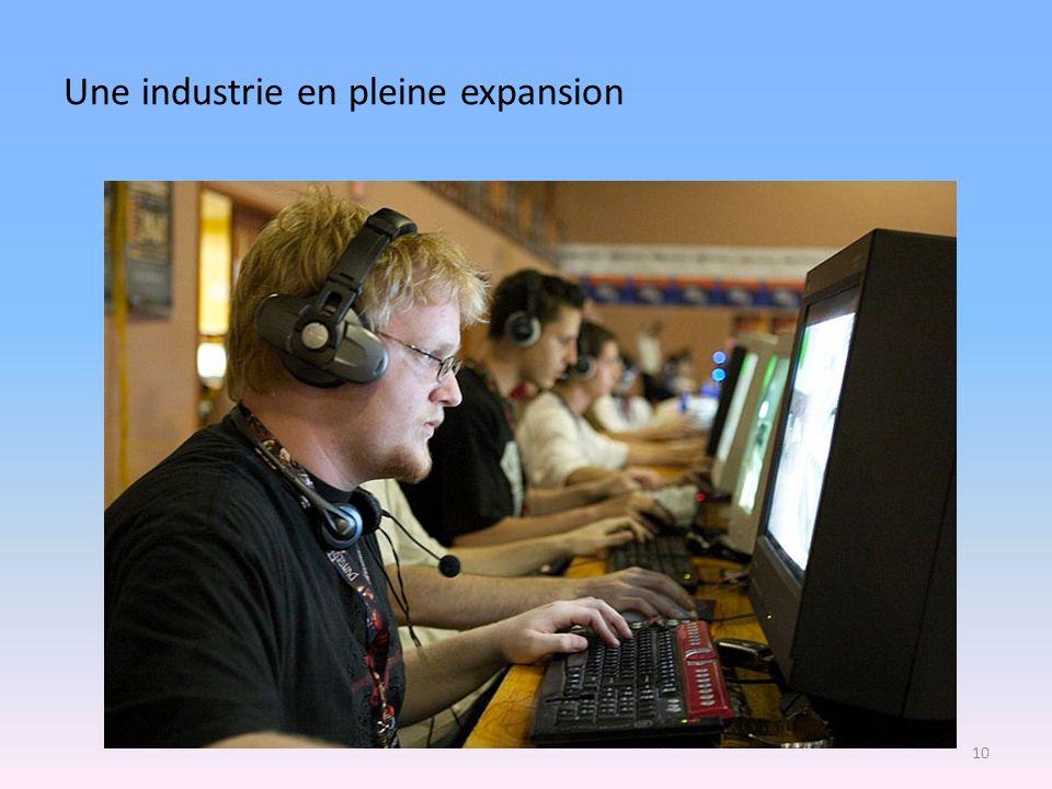 Une industrie en pleine expansion