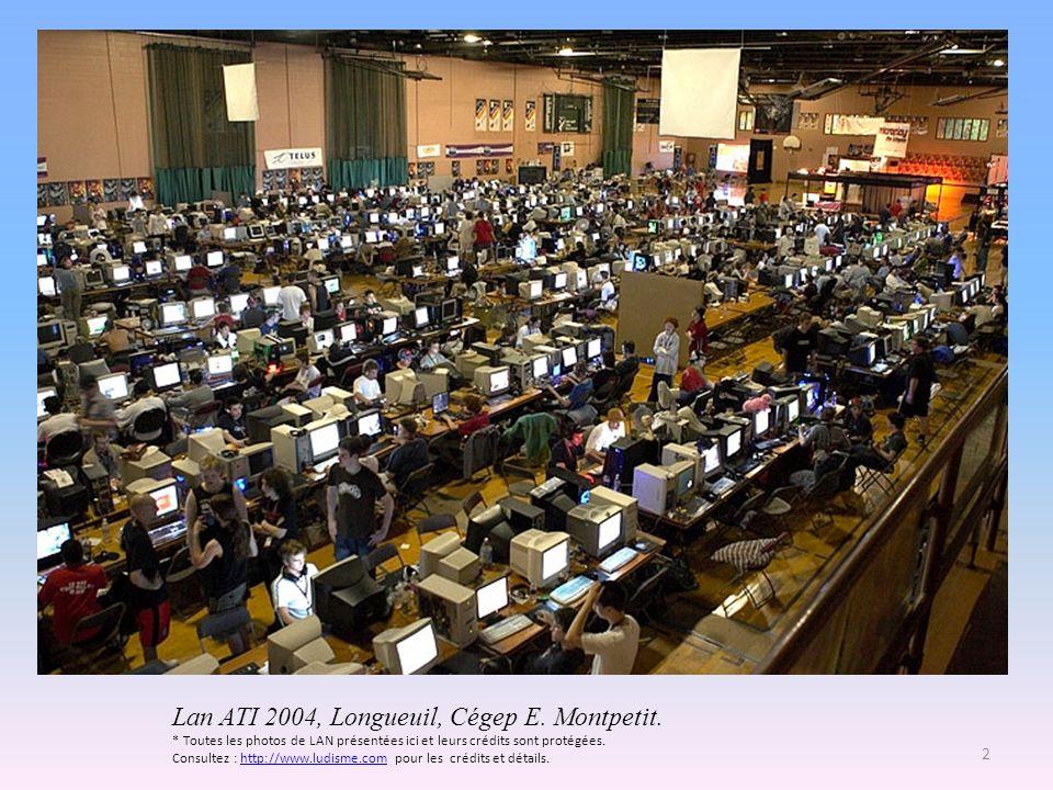 Lan ATI 2004, Longueuil, Cégep E. Montpetit