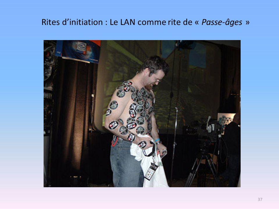 Rites d'initiation : Le LAN comme rite de « Passe-âges »
