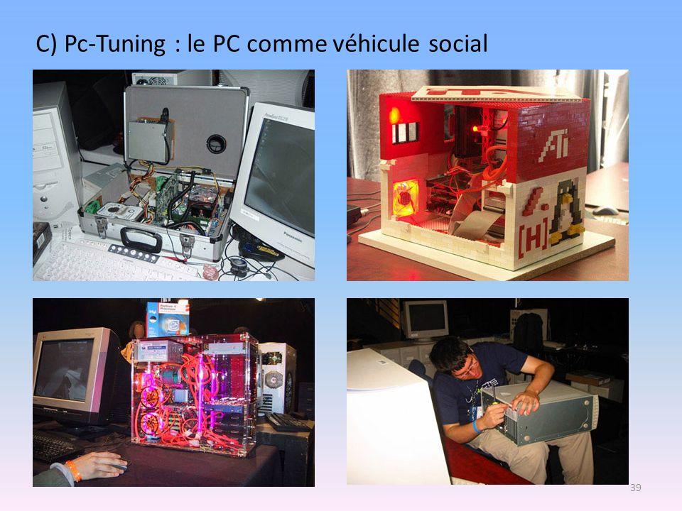 C) Pc-Tuning : le PC comme véhicule social