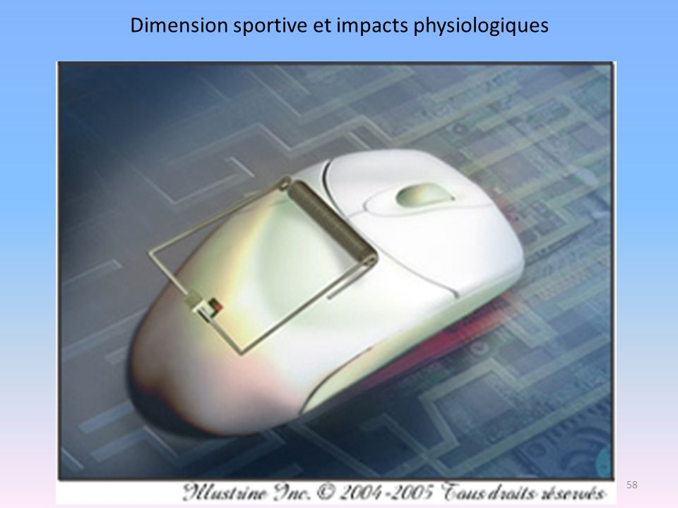 Dimension sportive et impacts physiologiques