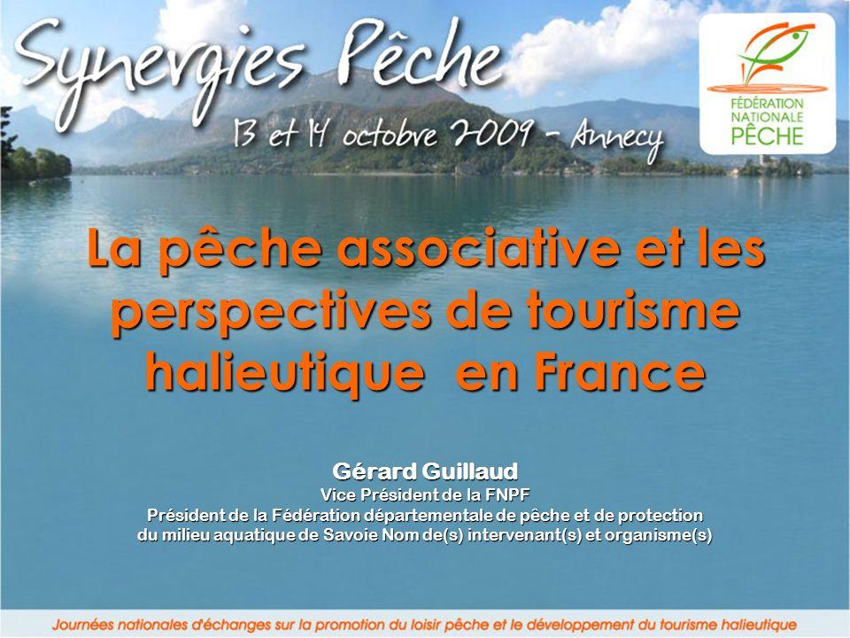 La pêche associative et les perspectives de tourisme halieutique en France
