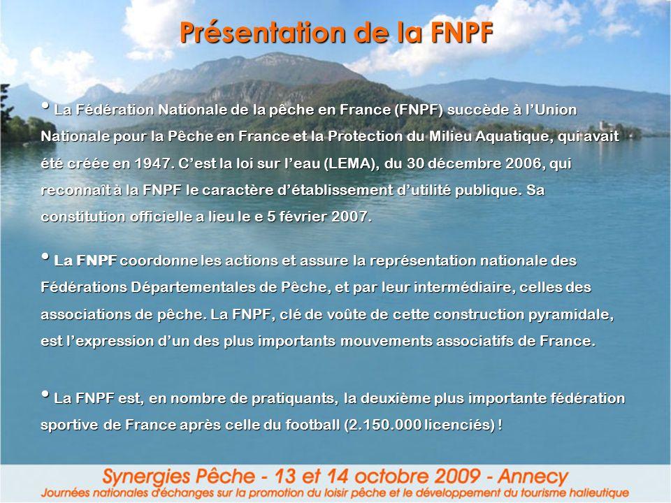 Présentation de la FNPF
