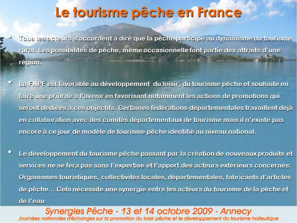 Le tourisme pêche en France