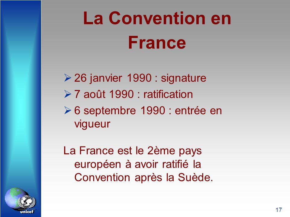 La Convention en France