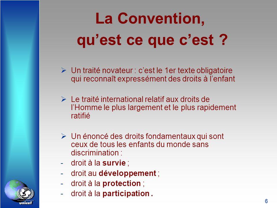 La Convention, qu'est ce que c'est