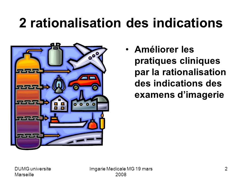 2 rationalisation des indications