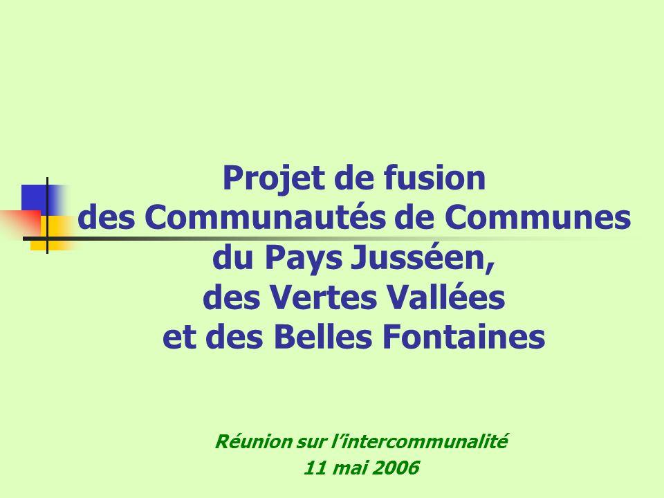 Réunion sur l'intercommunalité 11 mai 2006