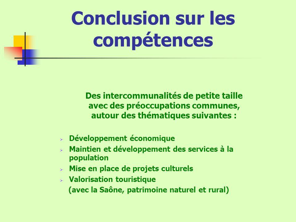 Conclusion sur les compétences