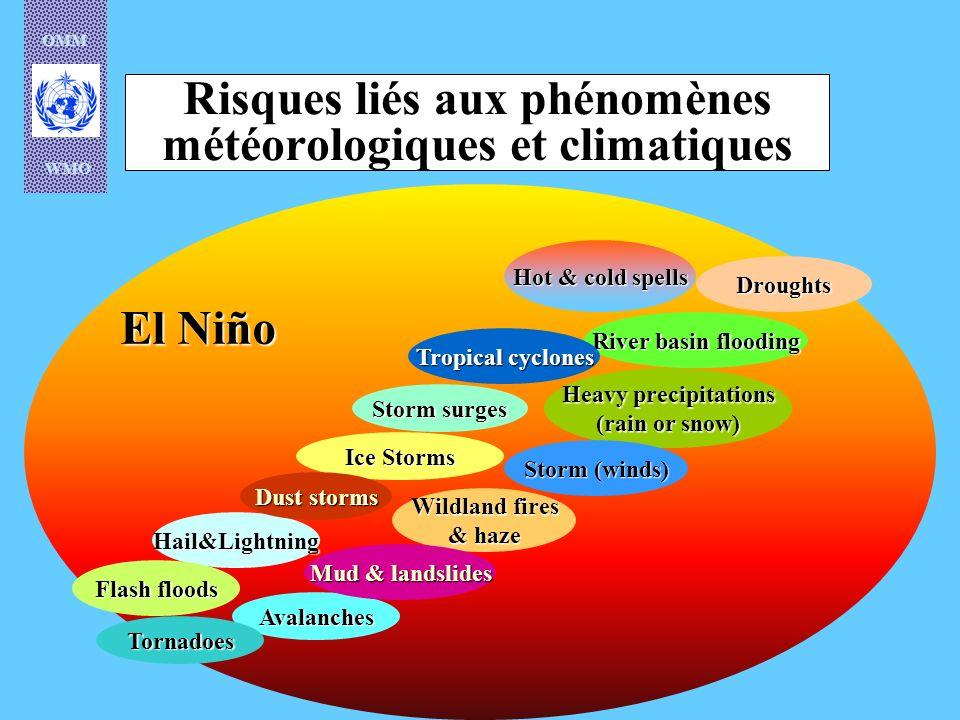 Risques liés aux phénomènes météorologiques et climatiques