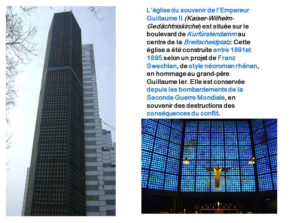 L'église du souvenir de l'Empereur
