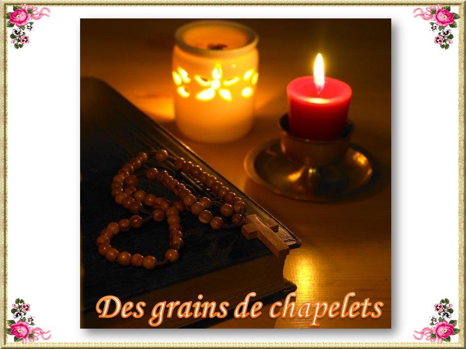 Des grains de chapelets
