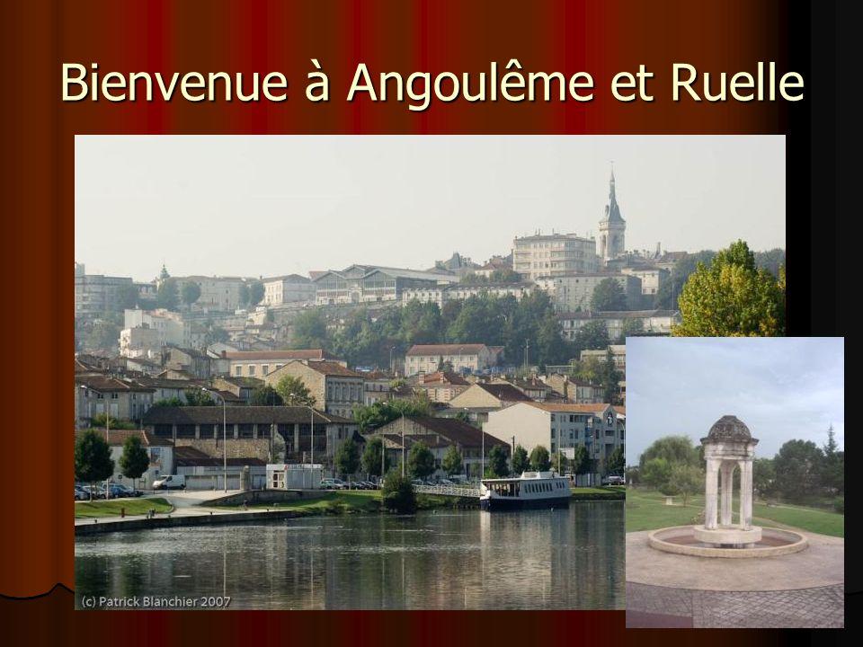 Bienvenue à Angoulême et Ruelle