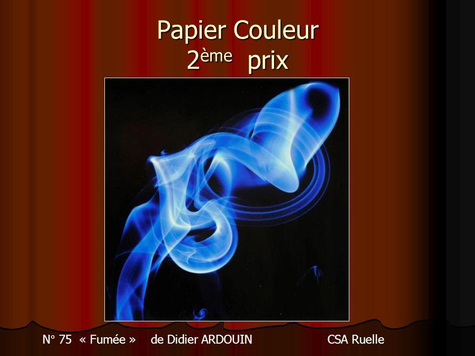 Papier Couleur 2ème prix