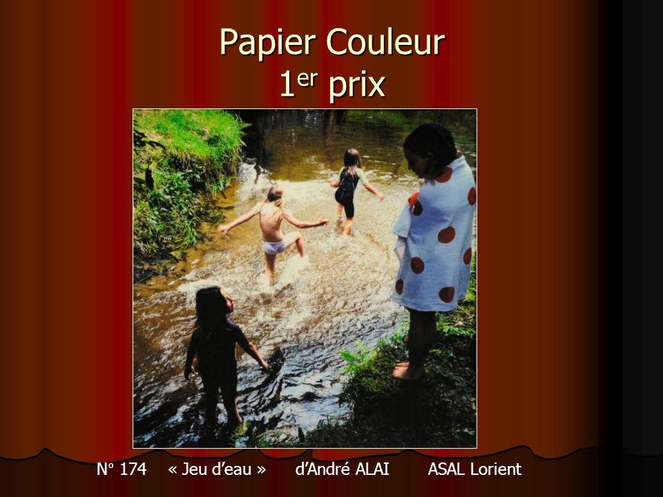 N° 174 « Jeu d'eau » d'André ALAI ASAL Lorient