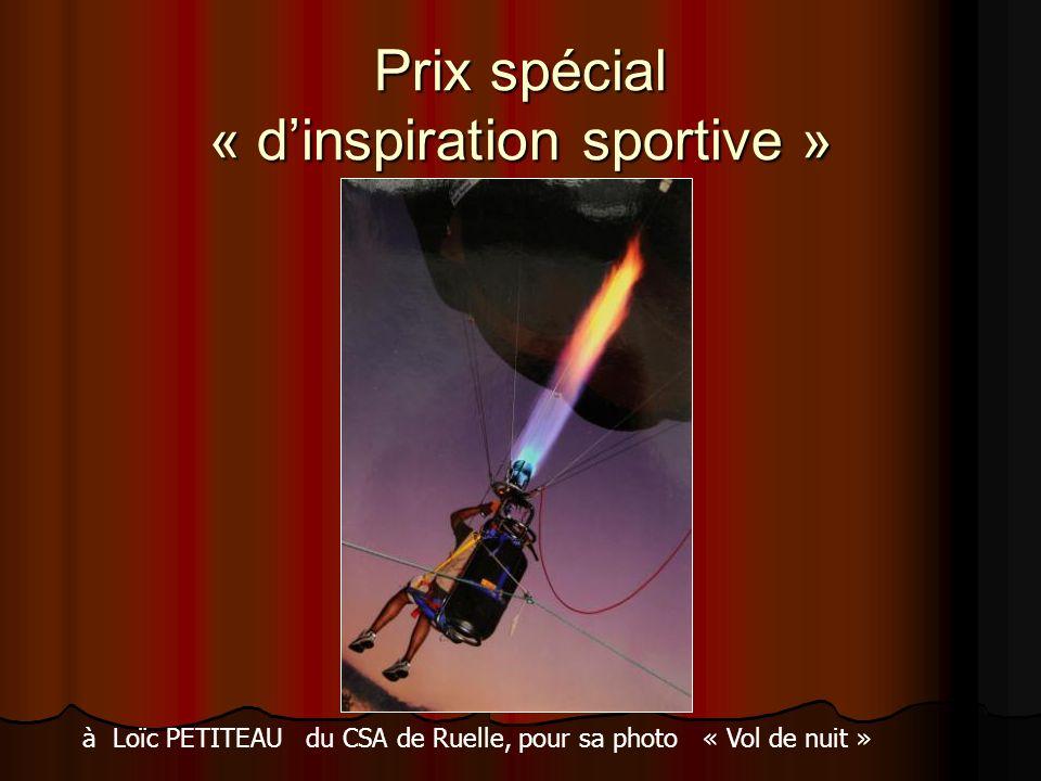 Prix spécial « d'inspiration sportive »