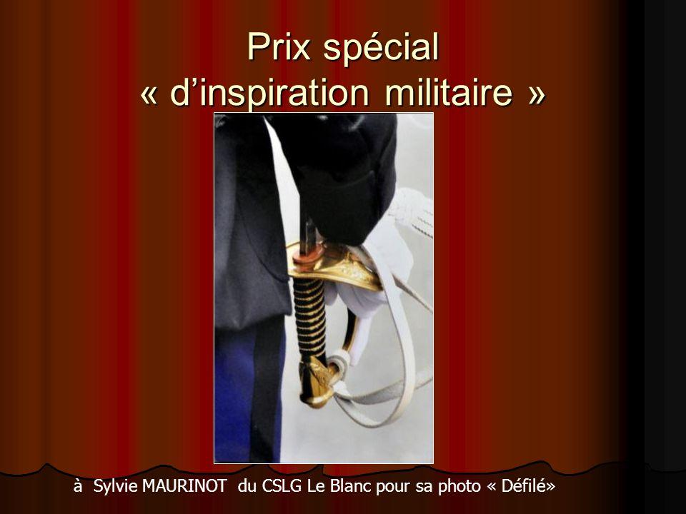 Prix spécial « d'inspiration militaire »