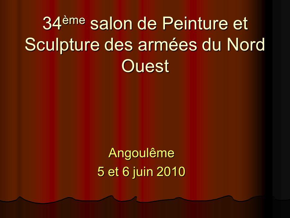 34ème salon de Peinture et Sculpture des armées du Nord Ouest