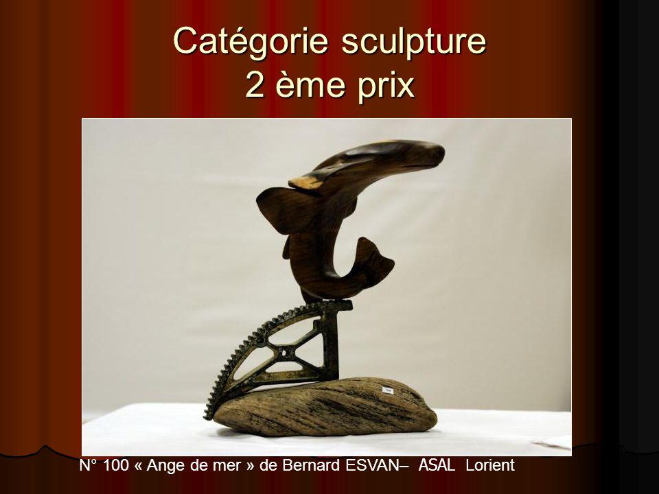 Catégorie sculpture 2 ème prix