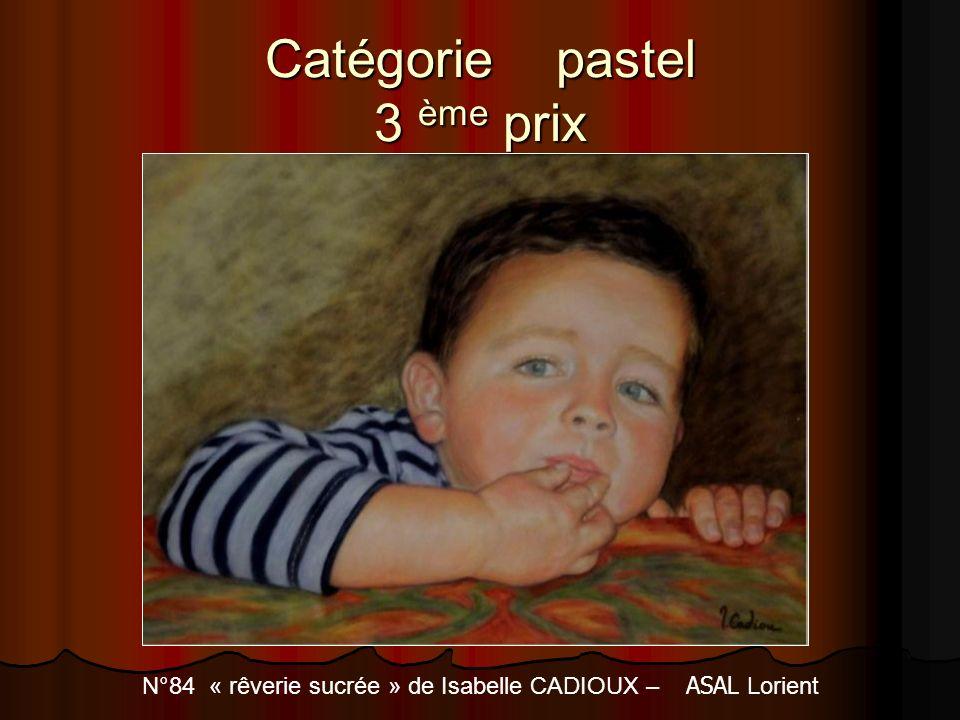 Catégorie pastel 3 ème prix