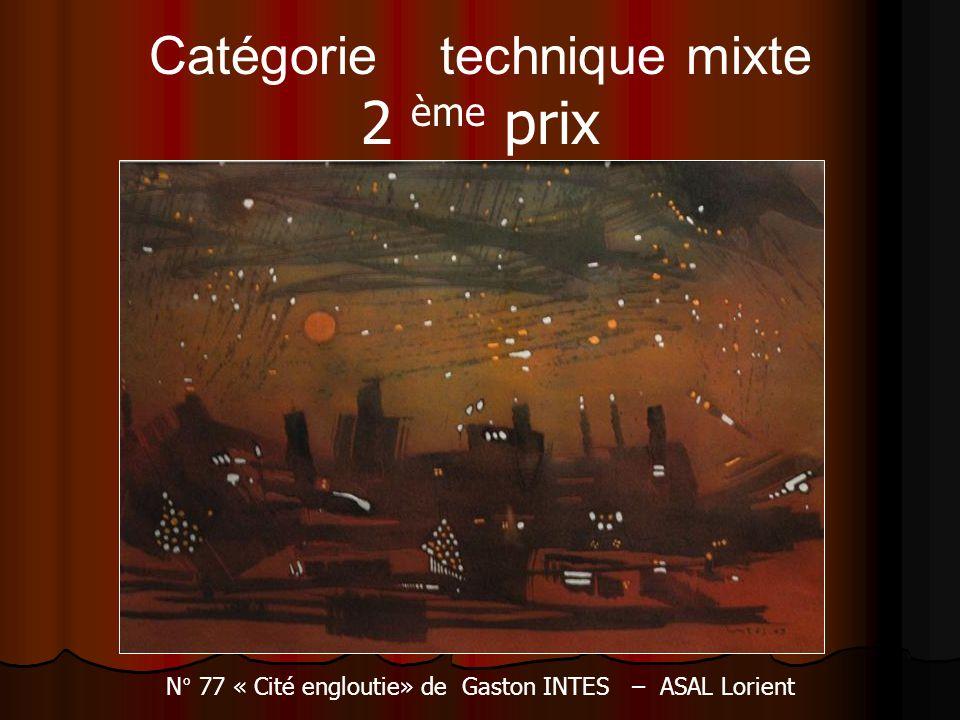 Catégorie technique mixte 2 ème prix