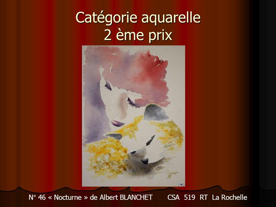 Catégorie aquarelle 2 ème prix