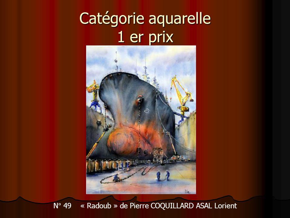 Catégorie aquarelle 1 er prix
