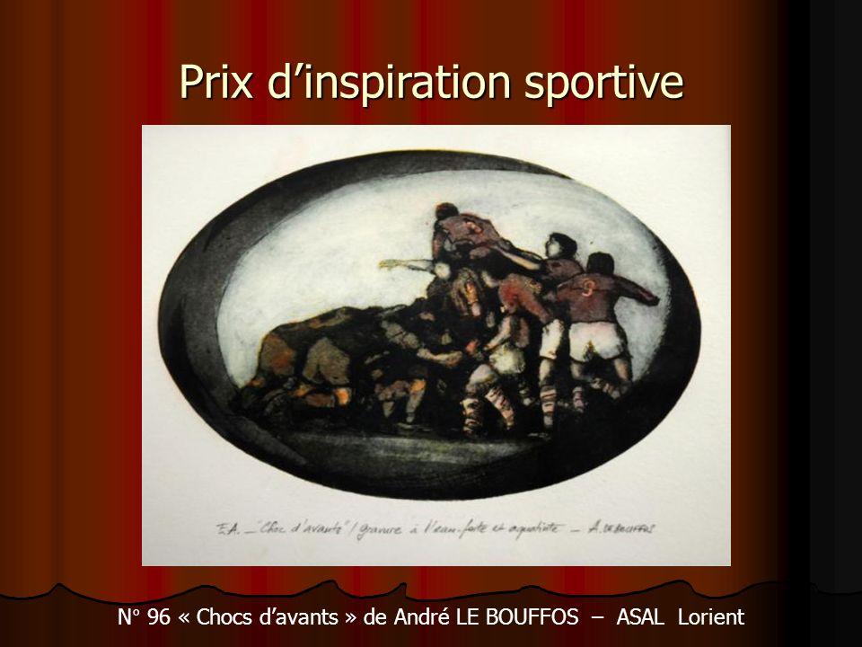 Prix d'inspiration sportive