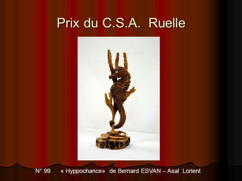 N° 99 « Hyppochance» de Bernard ESVAN – Asal Lorient