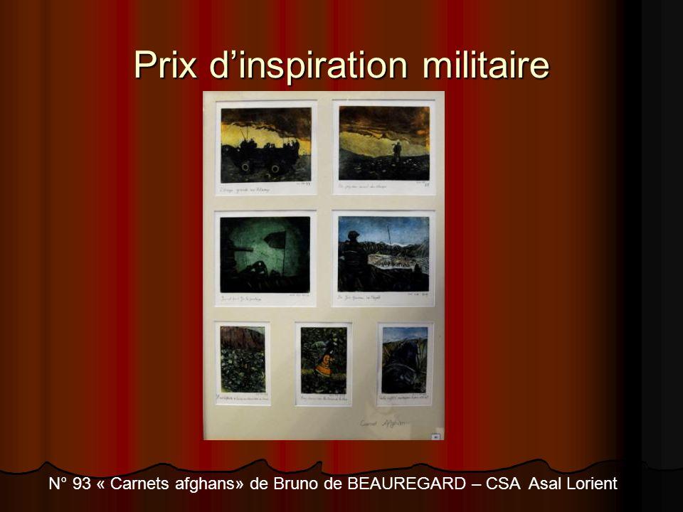Prix d'inspiration militaire