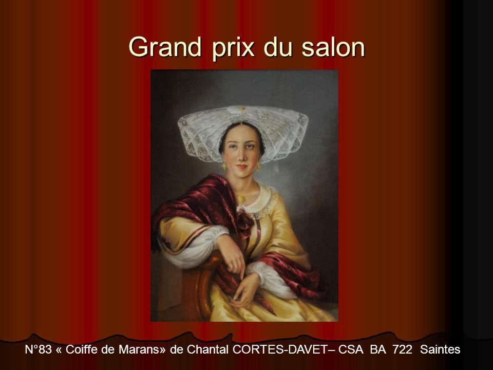 N°83 « Coiffe de Marans» de Chantal CORTES-DAVET– CSA BA 722 Saintes
