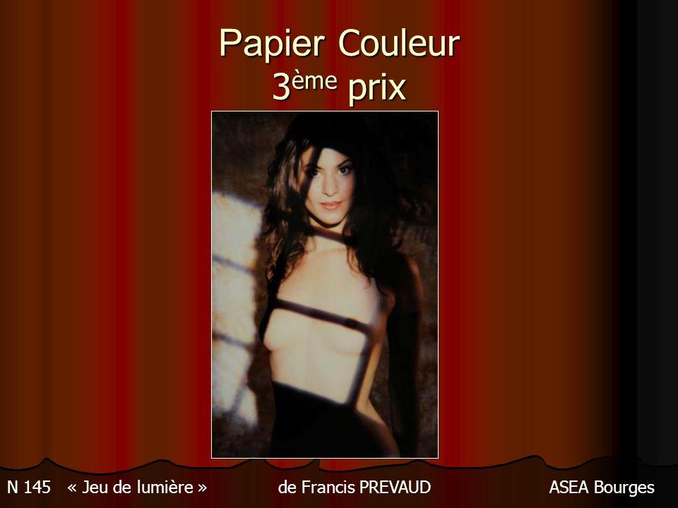 Papier Couleur 3ème prix