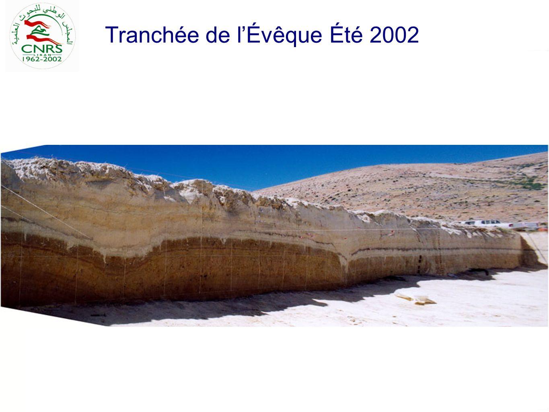 Tranchée de l'Évêque Été 2002