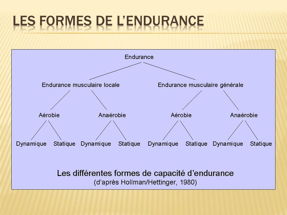 Les formes de l'endurance