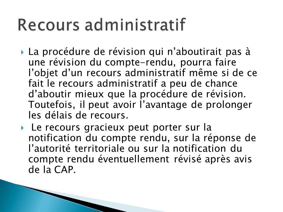 Recours administratif