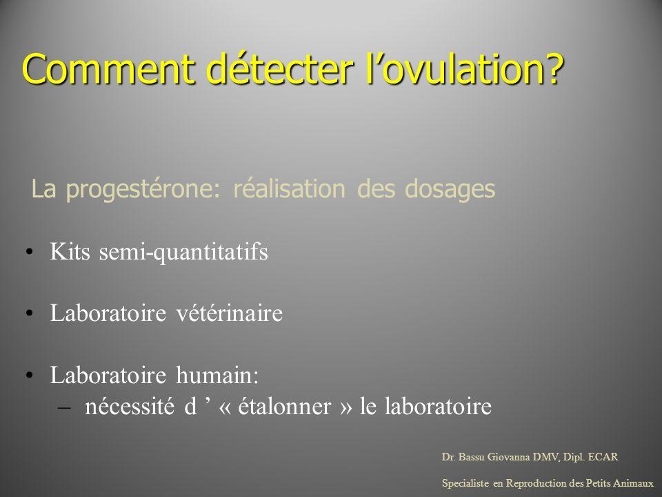 Comment détecter l'ovulation