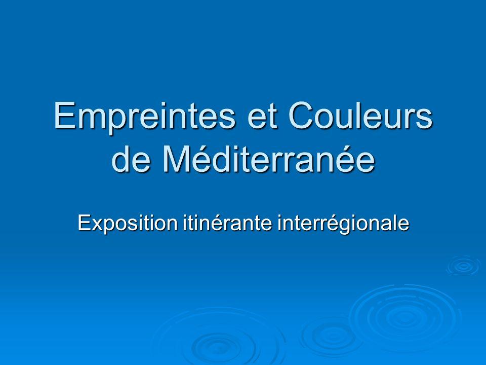 Empreintes et Couleurs de Méditerranée