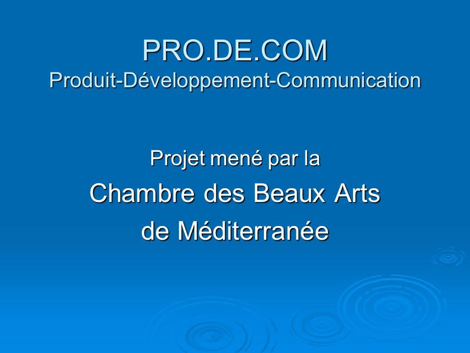 PRO.DE.COM Produit-Développement-Communication