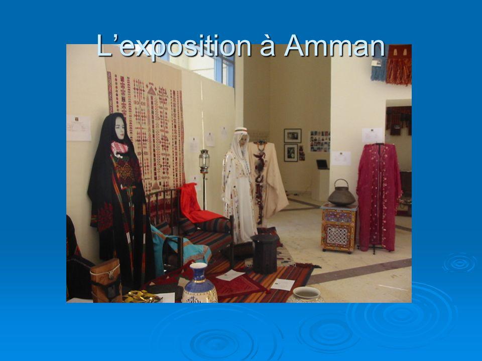 L'exposition à Amman