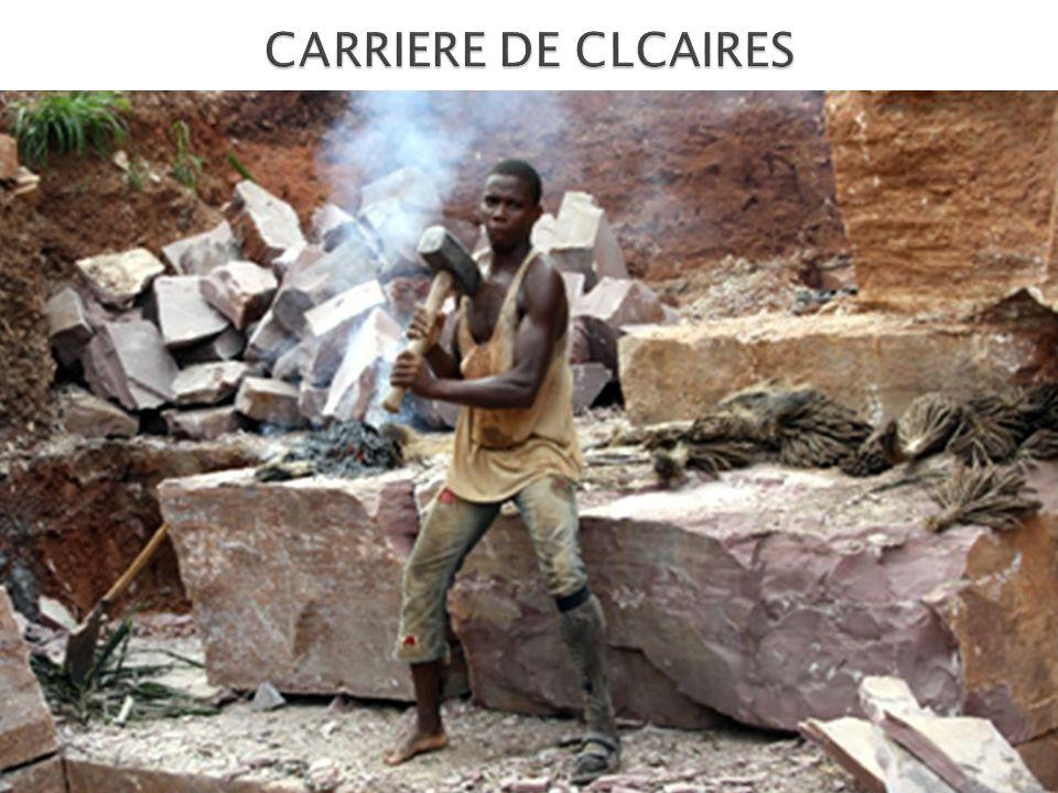 CARRIERE DE CLCAIRES