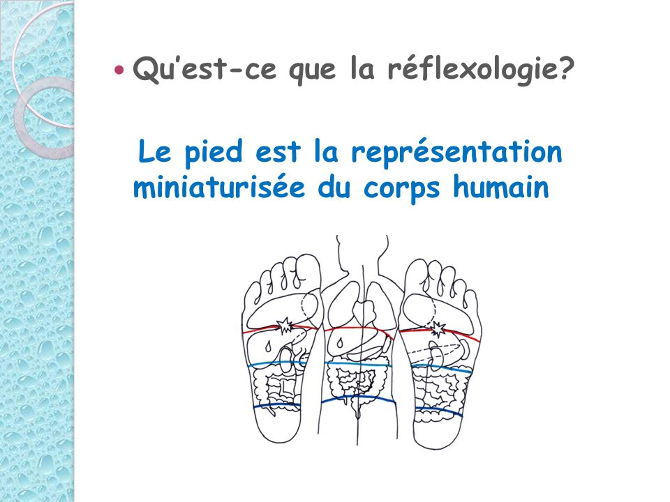 Qu'est-ce que la réflexologie